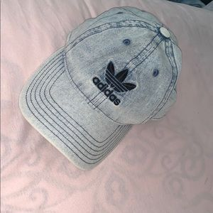Denim adidas cap